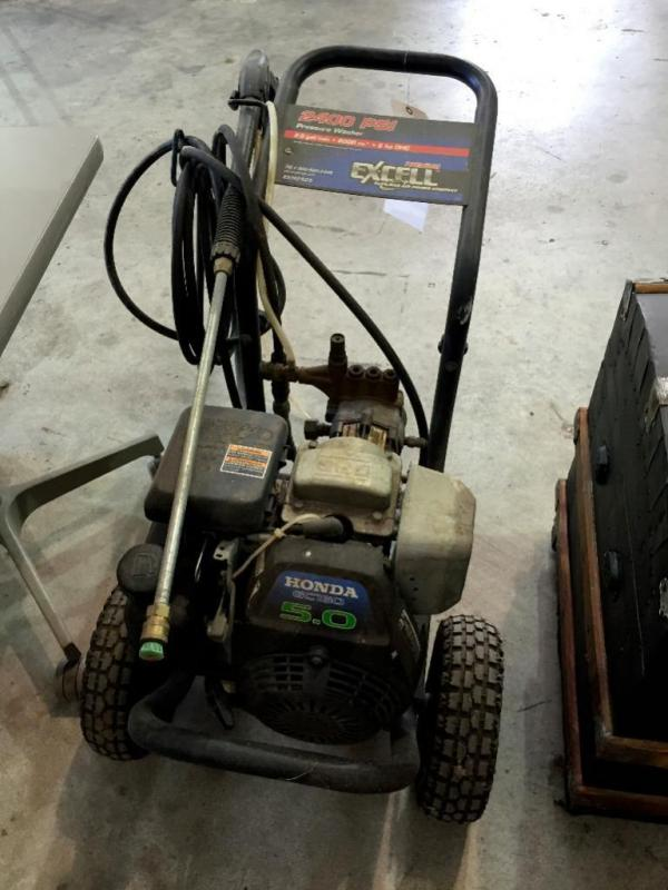 excell 2400 psi pressure washer manual