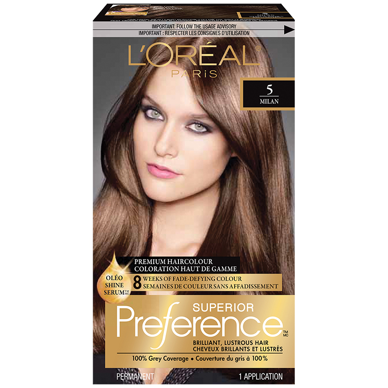 l oreal infinia preference instructions