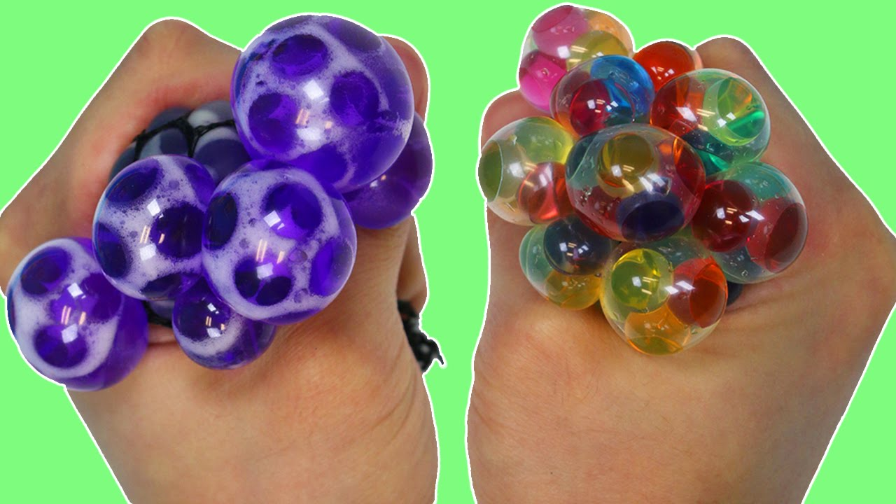 Orbeez stress ball instructions