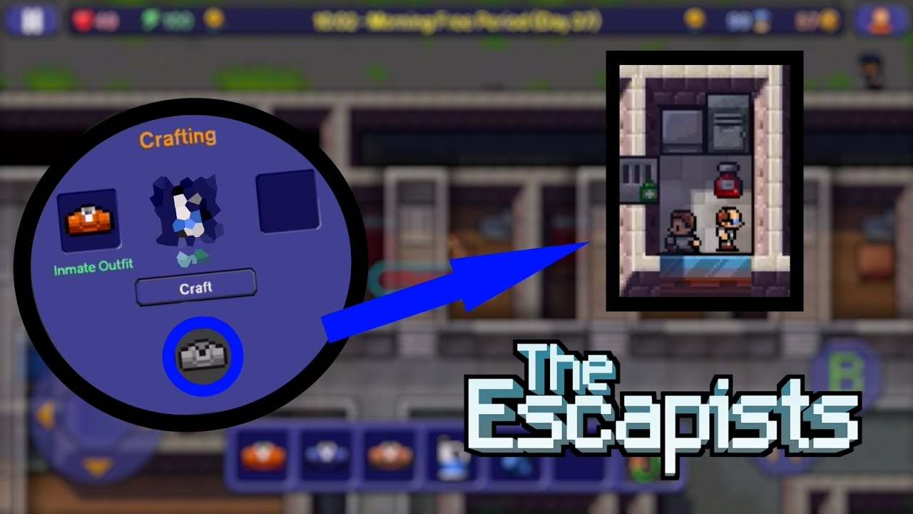 Escapists how to get a key