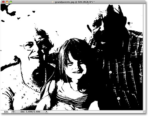 Photoshop how to turn color into black and white