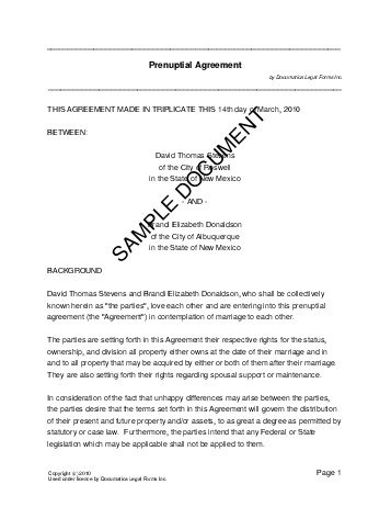 Separation agreement with child pdf