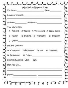 Law4160 negotiation and conflict resolution application form
