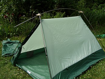 Timberline vacation home tent instructions