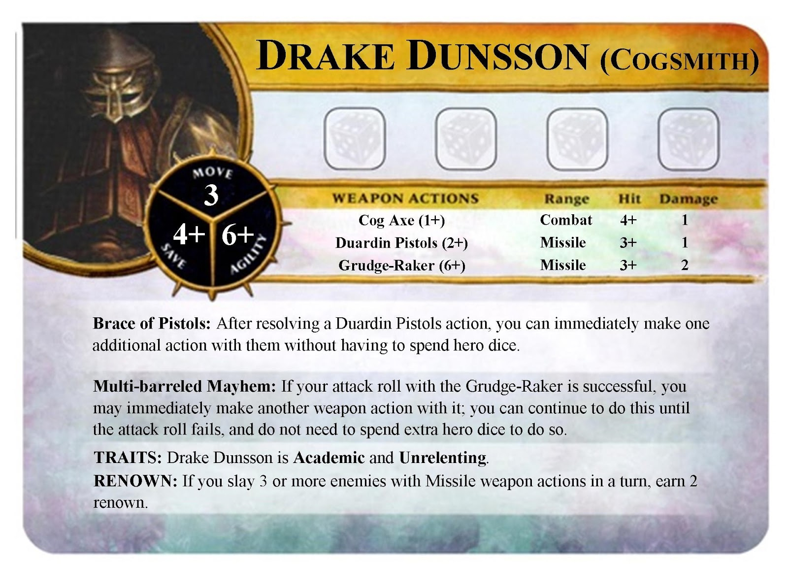 Warhammer quest silver tower hero cards pdf