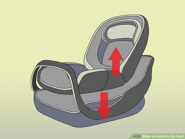 easy instructions to install a infasecure baby seat