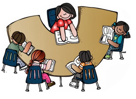 small group instruction clipart