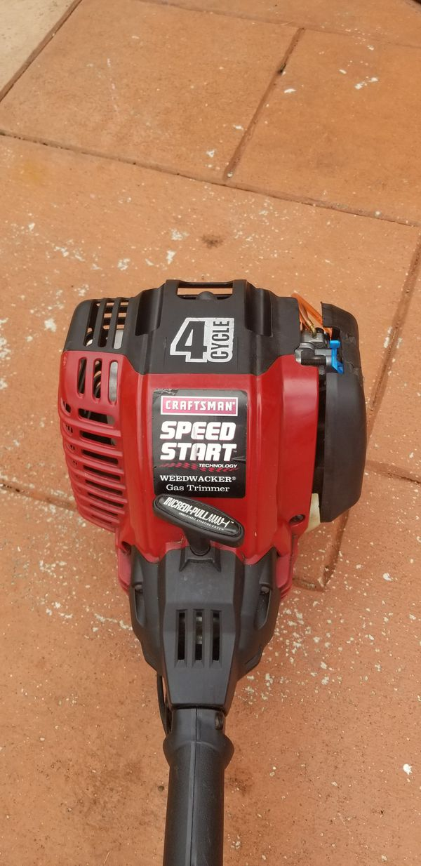 Craftsman 29cc 4 cycle gas trimmer manual