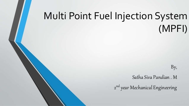 Download multi point fuel injection system pdf