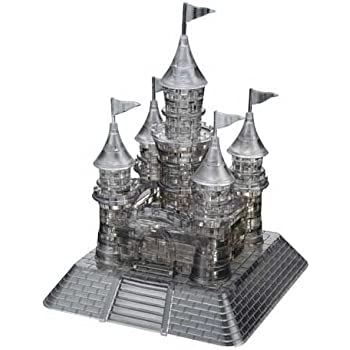 instructions on clear crystal 3d castle