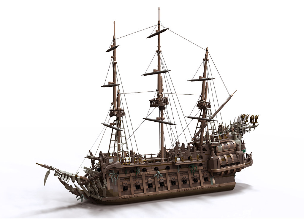 Lego pirates of the caribbean flying dutchman instructions
