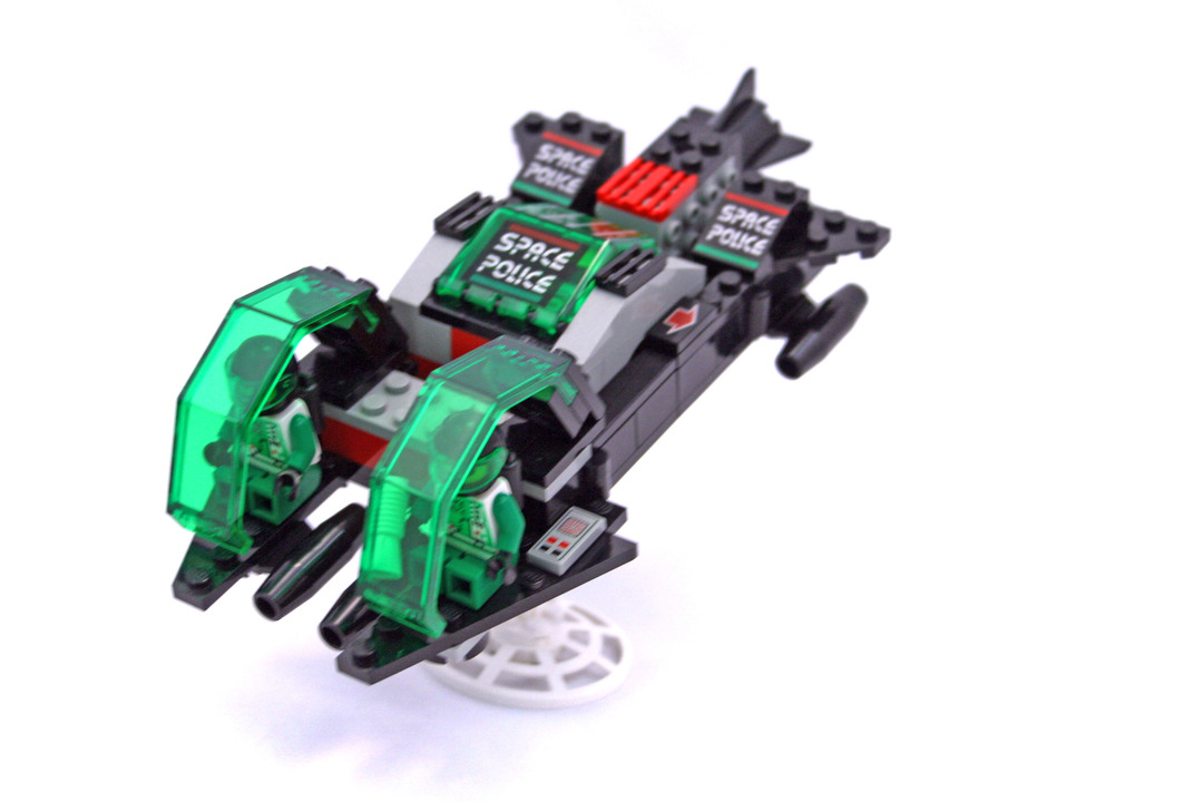 lego space police 6957 instructions
