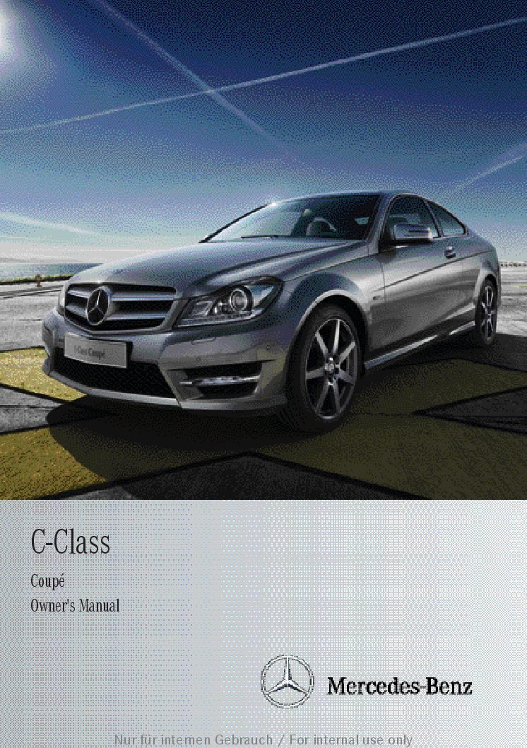 Mercedes benz c300 owners manual