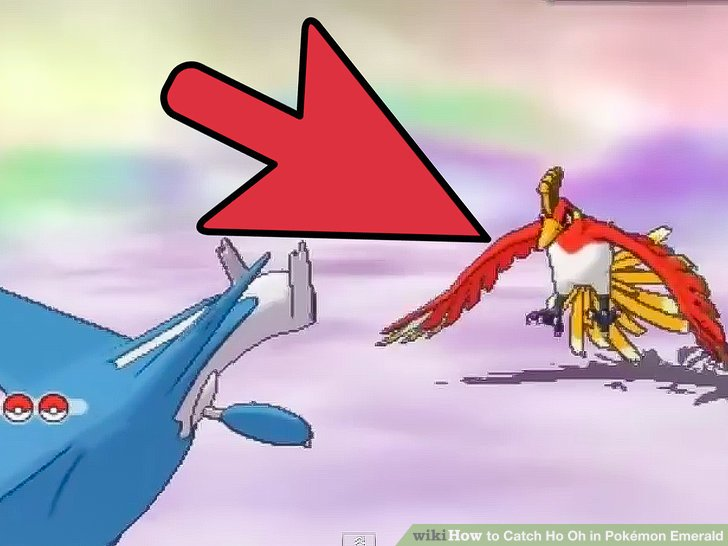 Pokemon gold how to catch ho oh