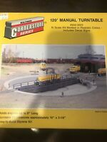 walthers 90 foot turntable instructions